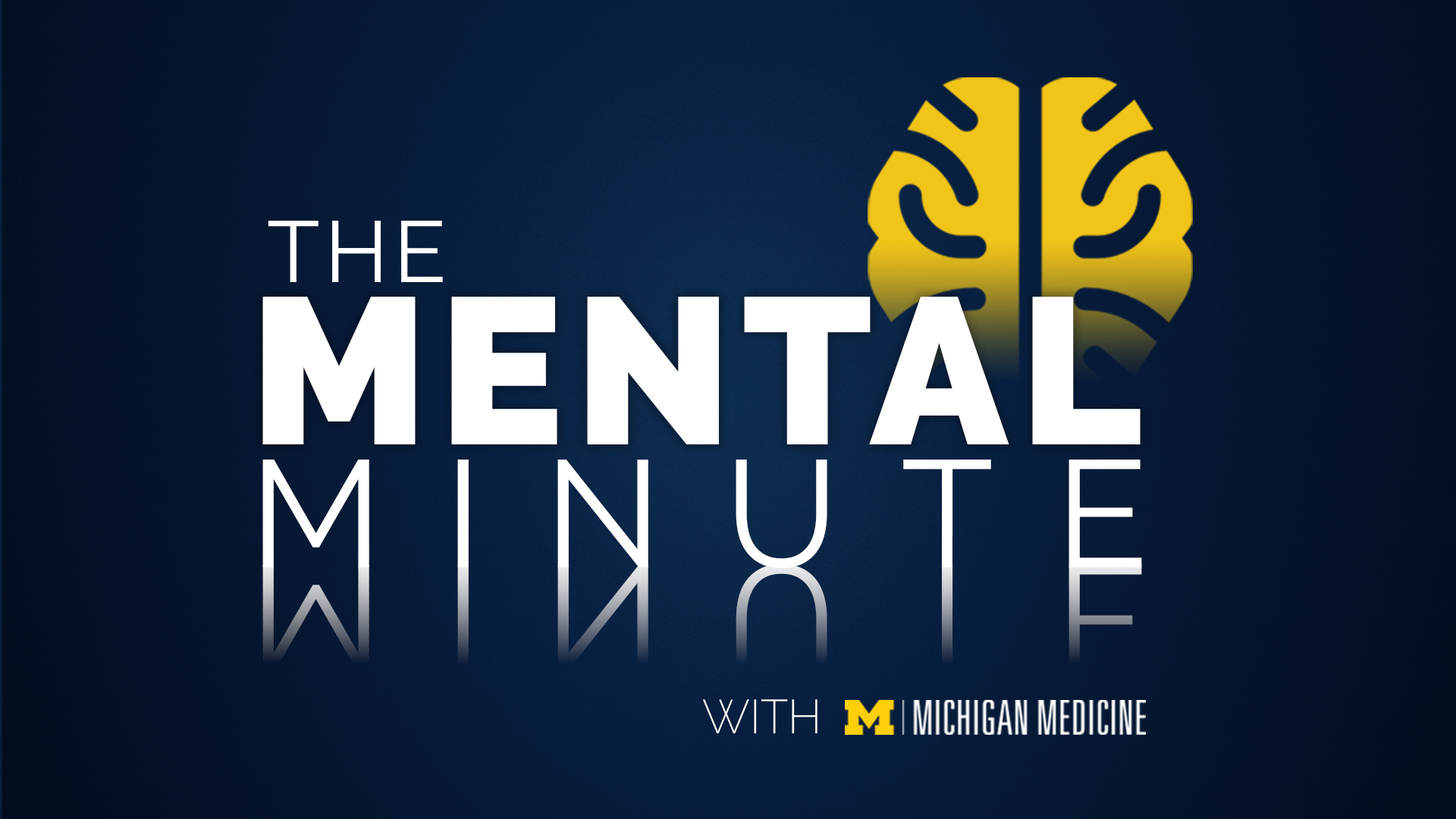 Mental Minute Title Card